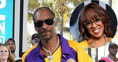 Snoop Dogg In Lakers Gear Gayle King Inset