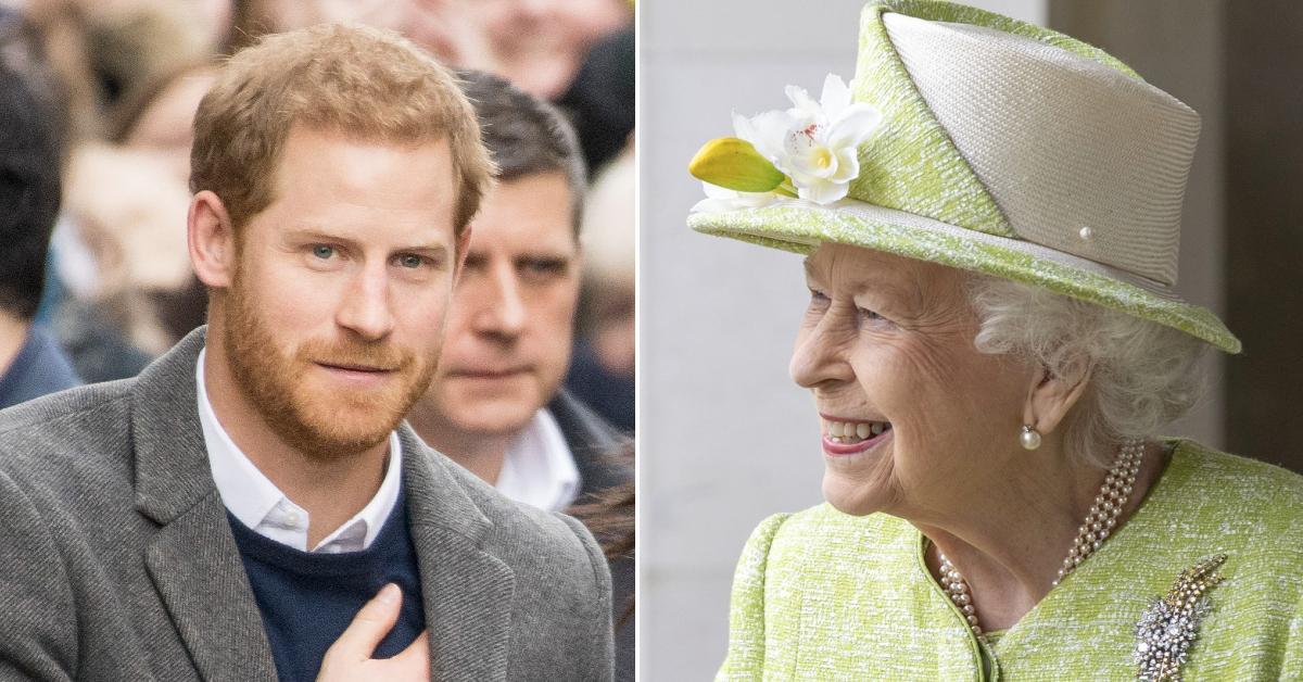 harry queen elizabeth back in contact pp