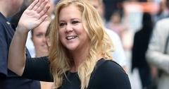 "Amy Schumer arriving at ""Good Morning America'"" taping at the ABC Times Square Studio"