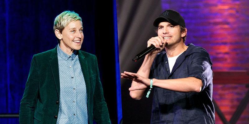 Ashton Kutcher Ellen Co Host PP