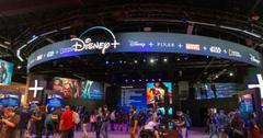 A Disney+ display.
