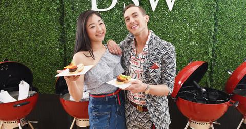 DSW Block Party Hosted By Olympians Adam Rippon And Mirai Nagasu