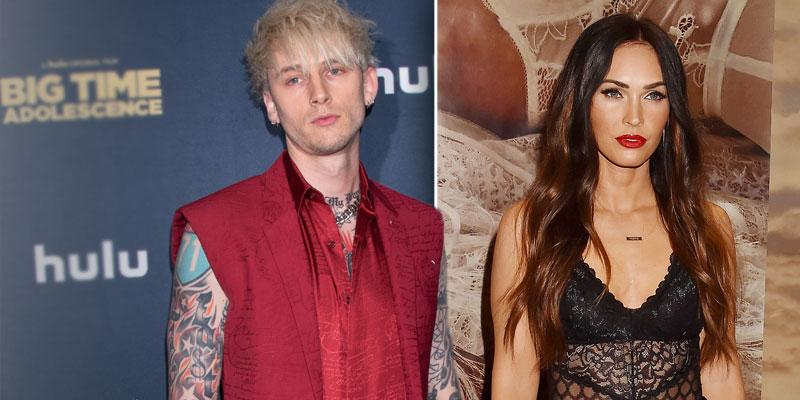rapper machine gun kelly transformers-megan fox instagram relationship