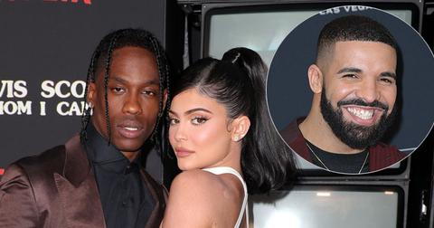 Kylie Jenner And Travis Scott On Red Carpet Drake