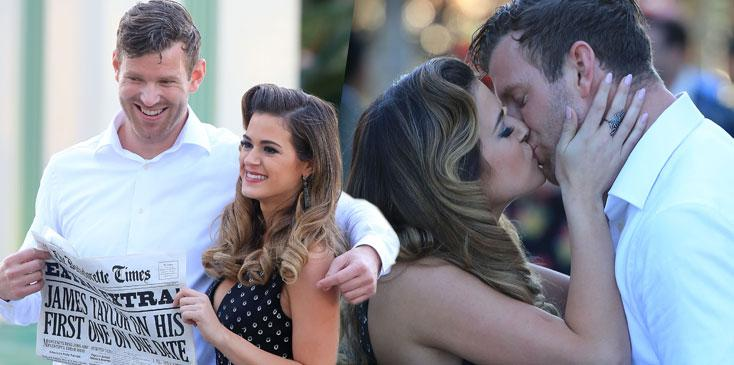 Bachelorette jojo fletcher pda james taylor