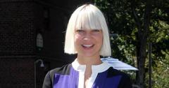 Sia Furler With Platinum Blonde hair