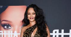 Rihanna On Red Carpet Side Boob Bikini