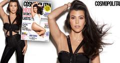 kourtney kardashian cosmo cover october issue