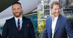Tom hardy calls friend prince harry a legend pp