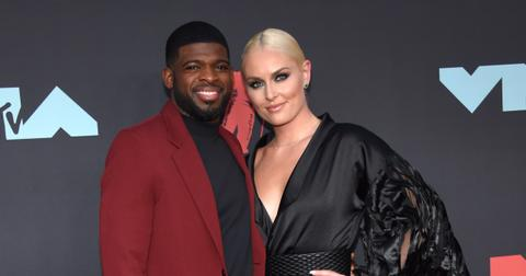 Lindsey Vonn and P.K. Subban at the 2019 MTV Video Music Awards2019 MTV Video Music Awards