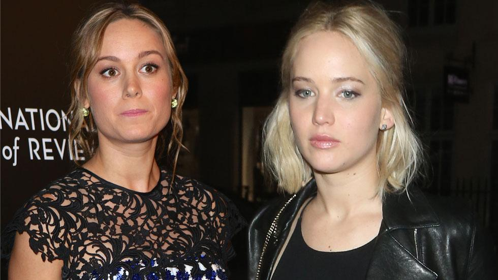 Brie Larson Feuding With Jennifer Lawrence