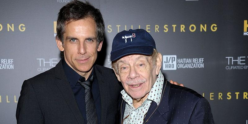 Ben stiller dad jerry rushed hospital pp