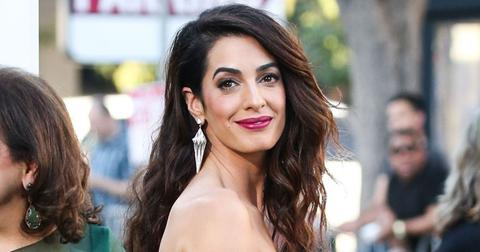 Amal Clooney Mom Party Girl Past PP