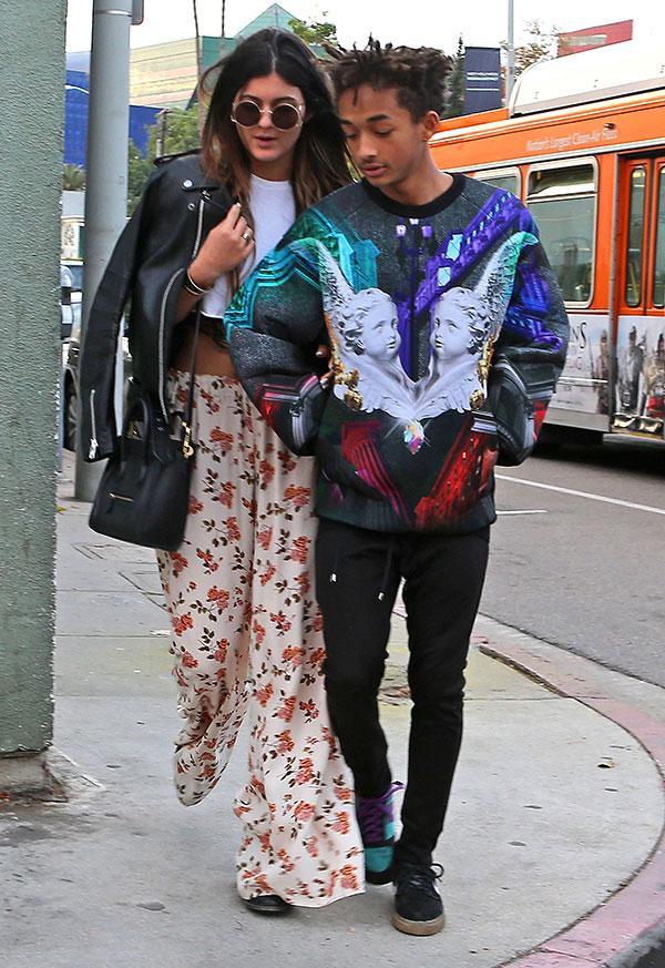 Kylie Jenner Jaden Smith Cute 2