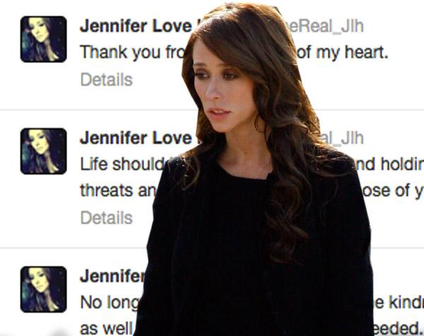 Jennifer Love Hewitt Twitter Threats 1