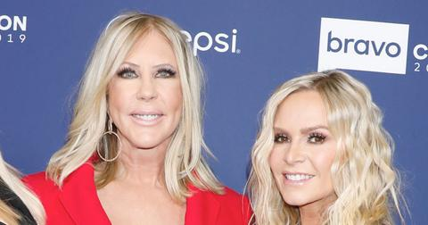 Vicki Gunvalson And Tamra Judge On Red Carpet