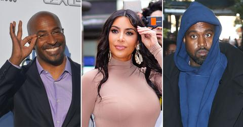Kanye West 'Jealous' Of Kim Kardashian's Relationship With Van Jones As Divorce Drama Rages On
