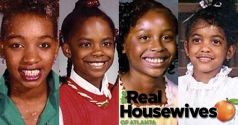Rhoa cast chldhood photos throwback pictures