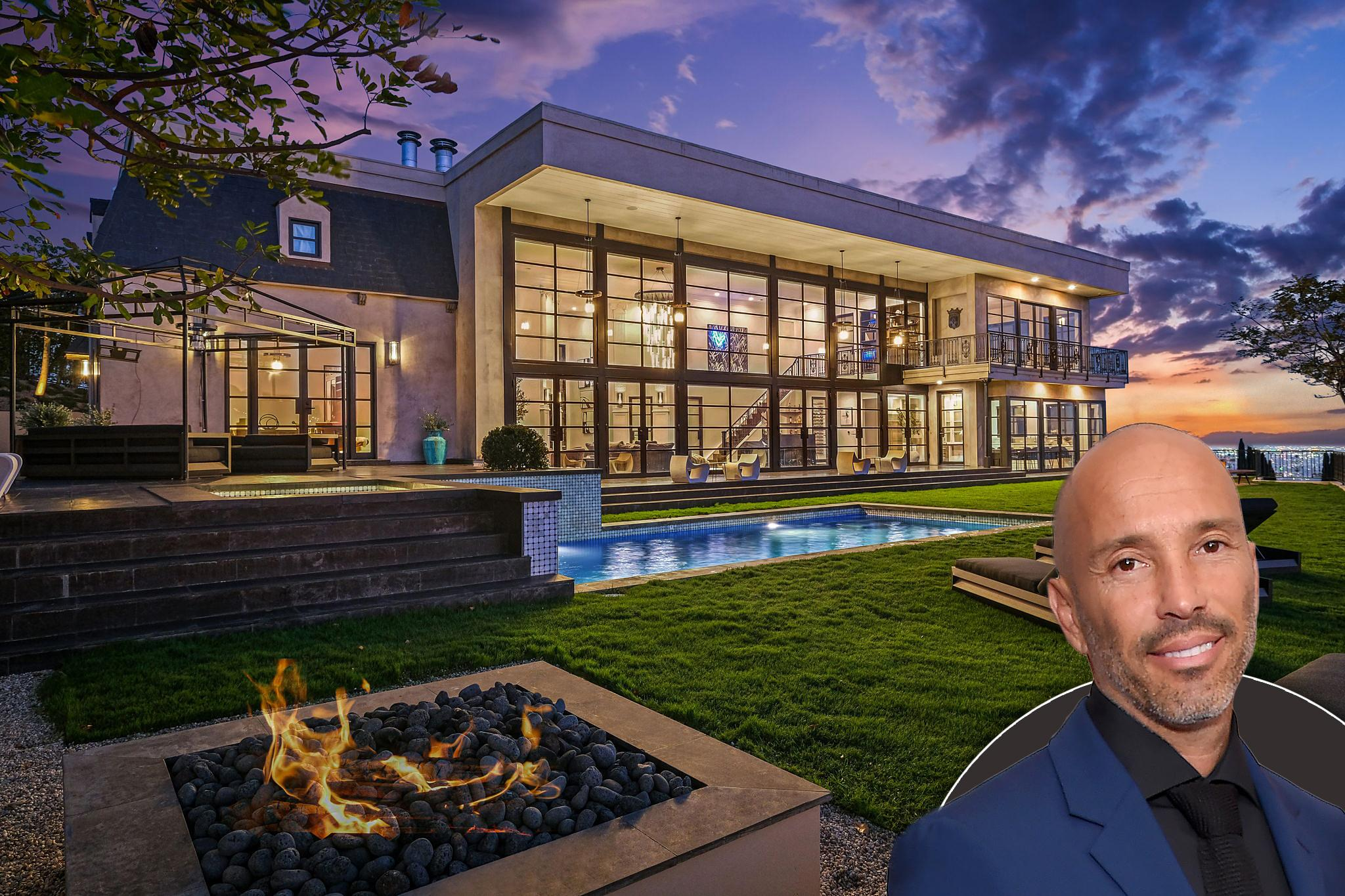 real estate mogul jason oppenheims newly renovated hollywood hills mansion