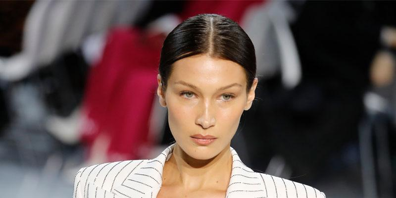Bella Hadid Goes Braless For Paris Fashion Week Show
