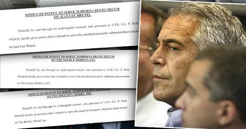 Jean-Luc Brunel], Accused of Gifting [Jeffrey Epstein] Underage Triplets, Subpoenaed
