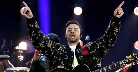 Justin timberlake cancelled LA concert post pic