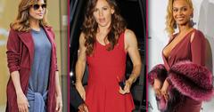 celebrities hide pregnancy baby bump