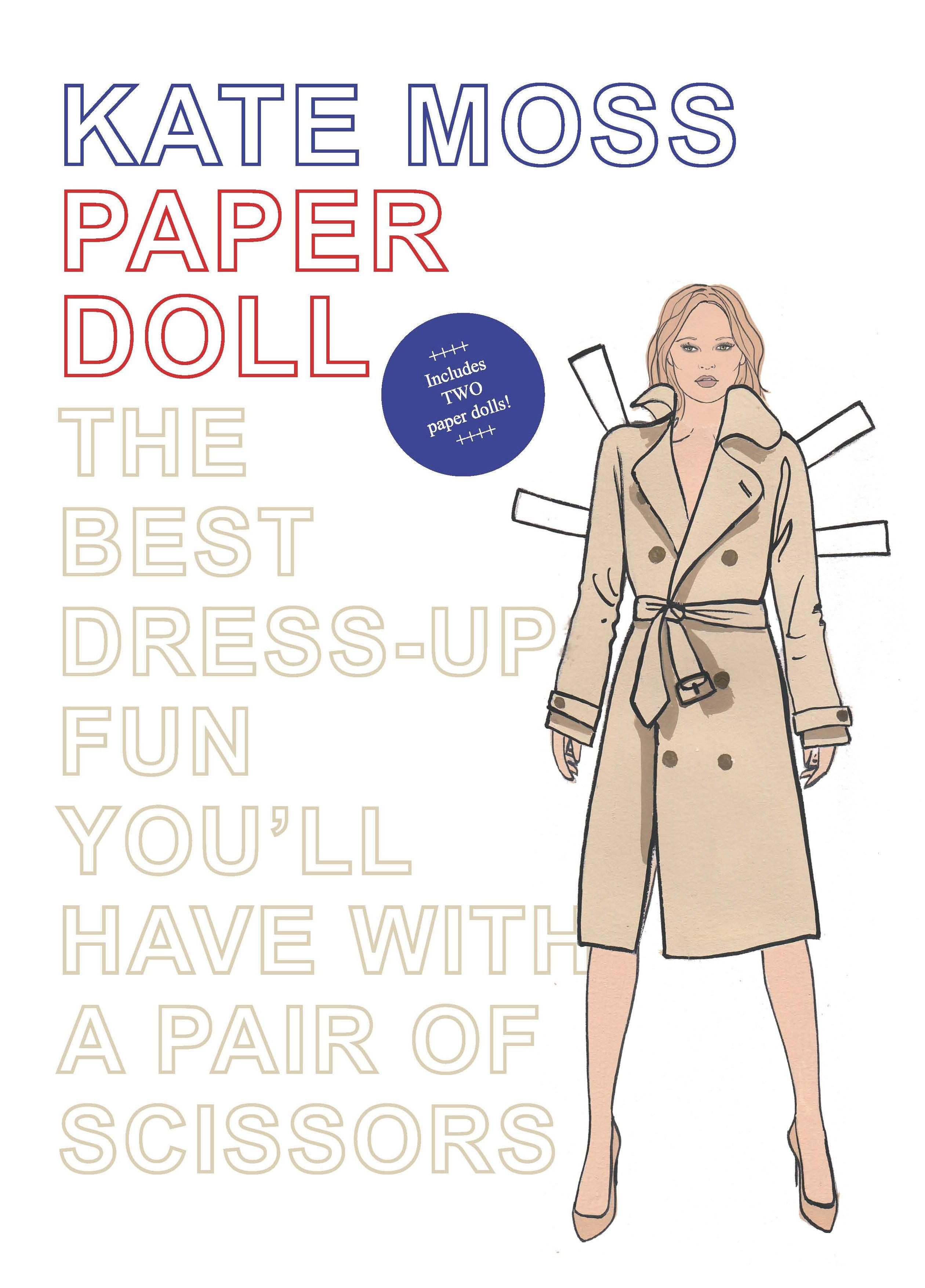 Kate moss paper dolls set