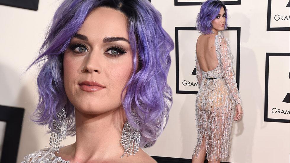 Katy perry 2015 grammy arrivals
