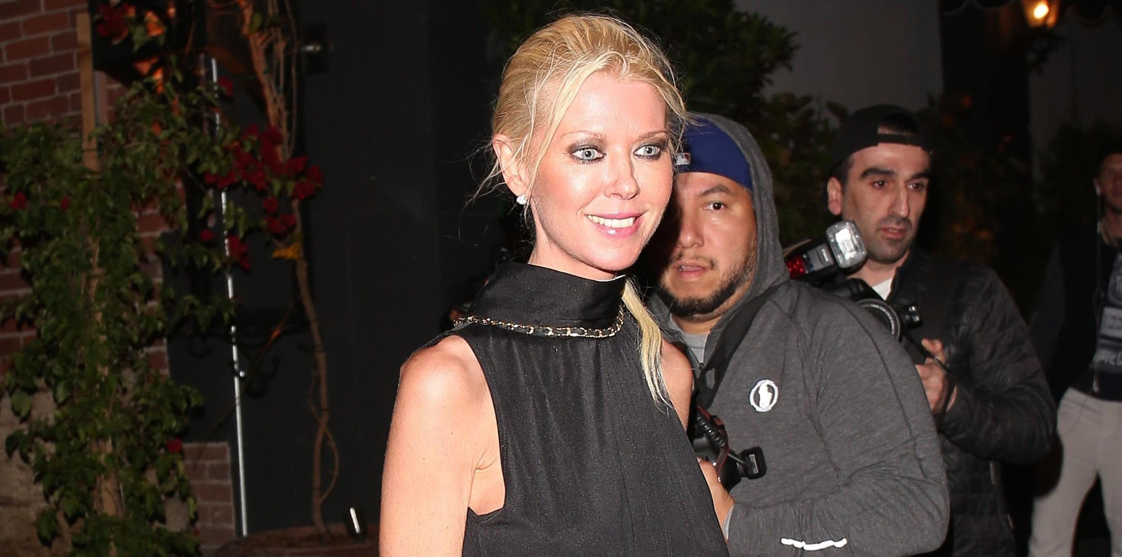 Tara Reid looks a little thin during a night out