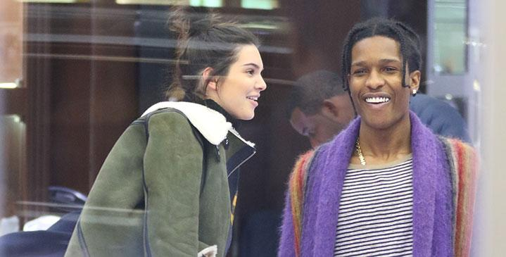 Kendall jenner dating asap rocky shopping nyc hr