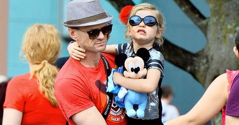 EXCLUSIVE: Neil Patrick Harris spends the day with his twins at Disneyland in Anaheim, CA.