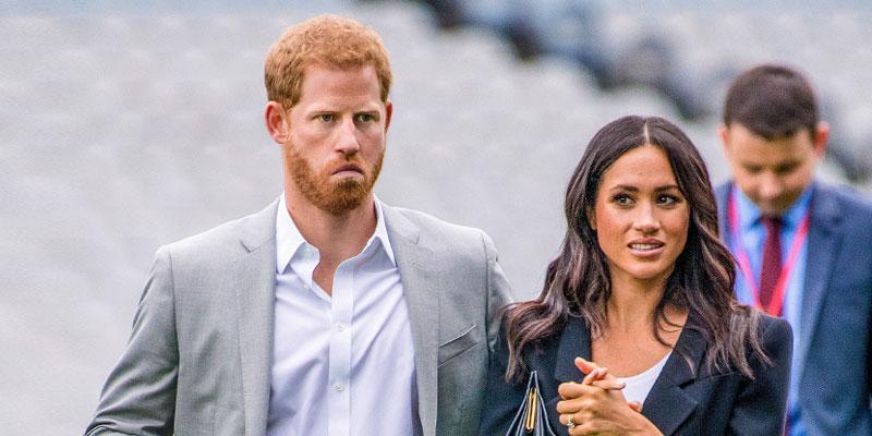 Prince Harry and Meghan Markle Paparazzi neighboors
