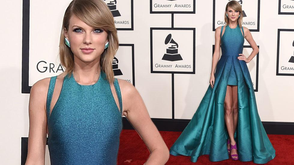 Taylor swift 2015 grammy arrivals