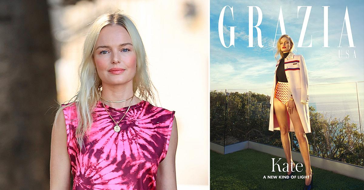 'I Wanted To Turn Inside Out': How Kate Bosworth Incorporates Meditating And Self Expression Into Her Daily Routine