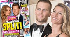 Gisele tom brady split divorce marriage problems