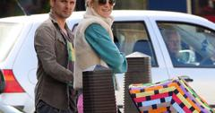 EXCLUSIVE: Kate Hudson and Matt Bellamy out with their son Bingham in north London