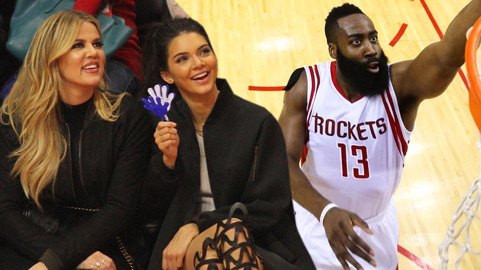 Khloe kardashian secret rendezvous basketball player james harden