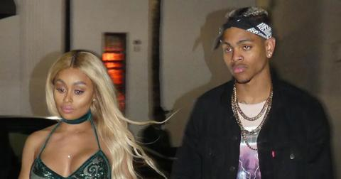 *PREMIUM EXCLUSIVE* Blac Chyna and her new boyfriend Mechie Holding Hands as they leave a nightclub at 4AM