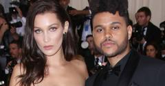 Bella Hadid The Weeknd Run-In