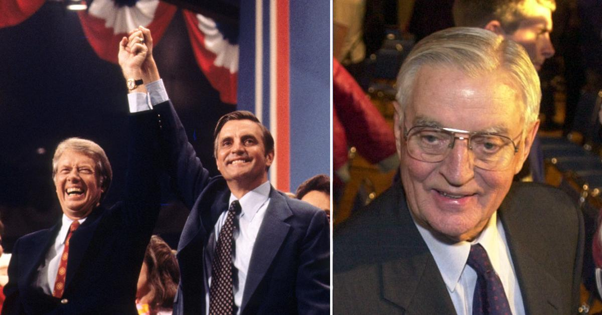 an invaluable partner walter mondale former vice president dead at  pf