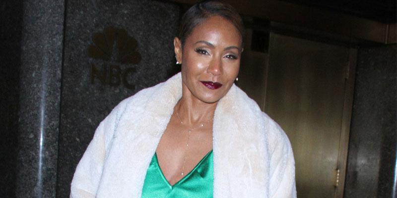 Jada pinkett green outfit post pic