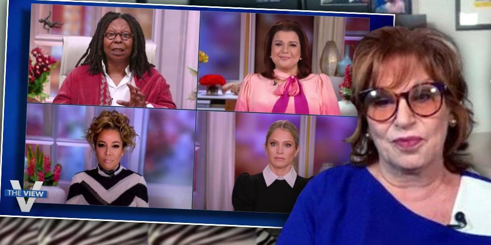 Joy Behar MIA From Friday's 'View,' One Day After Behind-The-Scenes Drama