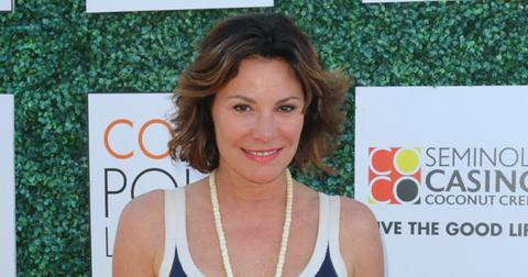 Real Housewives of New York star Countess Luann de Lesseps at the International Polo Club Palm Beacfor the C. V. Whitney Cup.