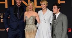 Catching Fire Berlin Liam Hemsworth Elizabeth Banks Jennifer Lawrence Josh Hutcherson