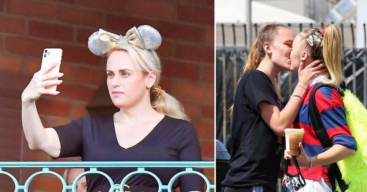 Hot Pics: Rebel Wilson Enjoys Disneyland, JoJo Siwa Plants A Kiss On Her Girlfriend, More - OK!