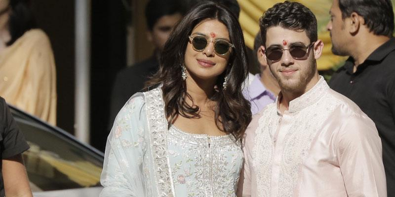 Priyanka nick indian robes post pic