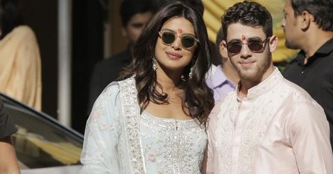 Priyanka nick indian robes post pic