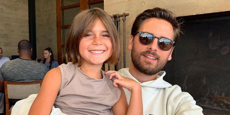 Scott Disick & daughter Penelope