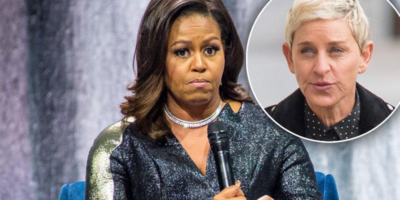 Michelle Obama Ellen Show